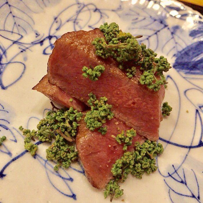 銀座で食べた長萩牛(ちょうしゅうぎゅう)