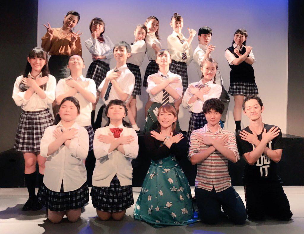 高校生ミュージカルの劇中歌を作曲したときの公演写真