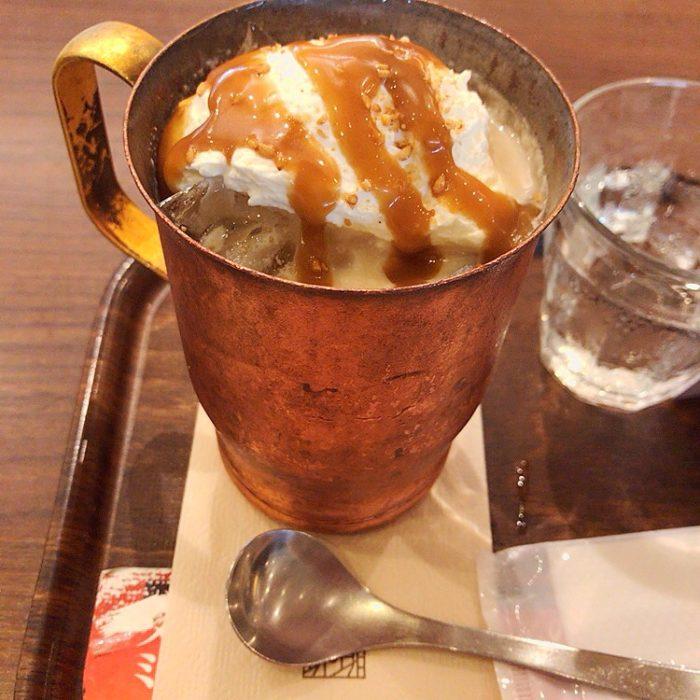 上島珈琲店の金胡麻ミルク珈琲