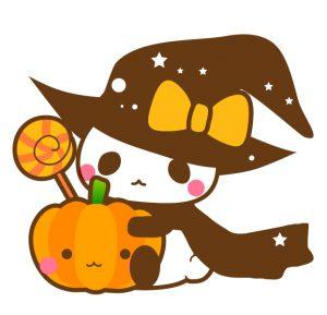 ハロウィンのパンダ