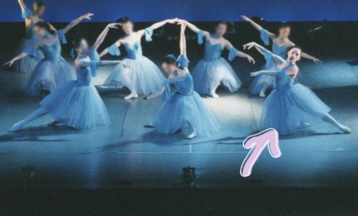 バレエを踊るミーウェル