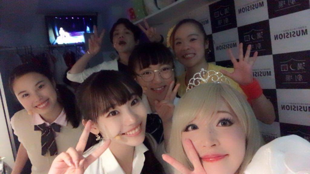 MpinK溝ノ口劇場ミュージカルの出演者たち