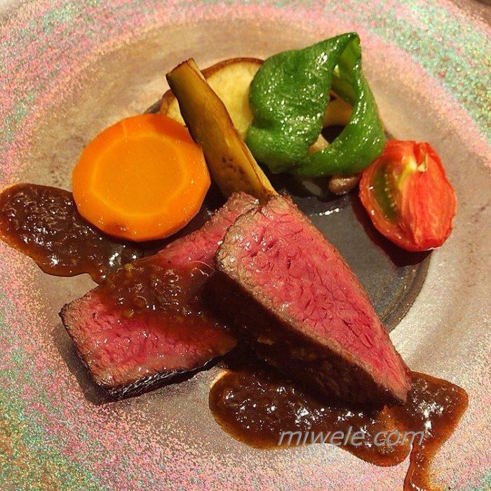 オリーブ牛のステーキ